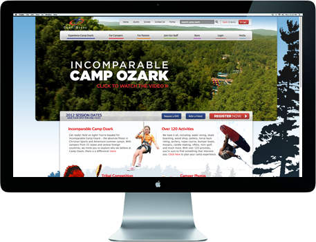 Camp Ozark Slide 1