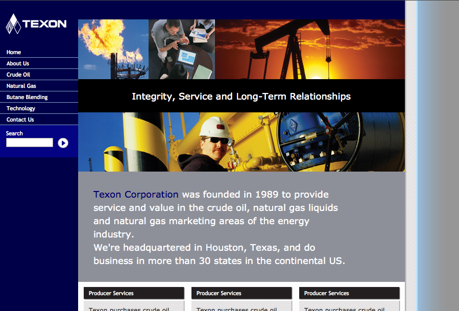 Texon LP (website)