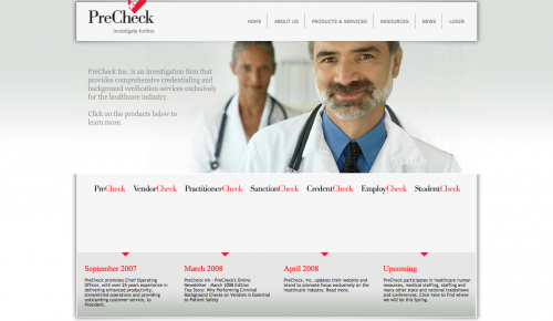 PreCheck (Website)