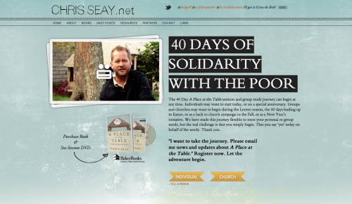 Chris Seay (website)