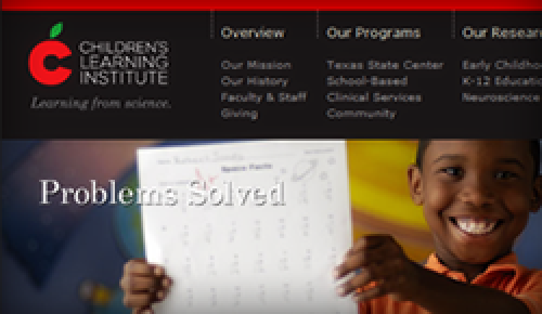 Children's Learning Institute (Website)